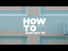 HOW TO/ HOW NOT TO PAINT DOORS Benjamin Moore, Aura Grand Entrance, Advance Enamel Trim and Door Paint