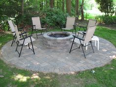 Stand Alone Fire Pit & Patio
