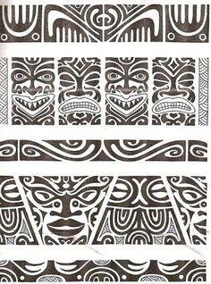 Afbeeldingsresultaat voor tattoo maori na perna bracelete
