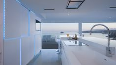 Projects PORCELANOSA Grupo: La casa flotante VV Bolnuevo, Murcia (España) #Porcelanosa #Noken #Gamadecor @anticcolonial   @kriondesign   #project #residential