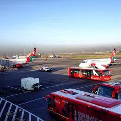 Jomo Kenyatta International Airport (NBO) in Nairobi, Nairobi