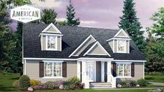 Build your new home with All American Homes and your local builder. Local Builders, Moving Day, Building A New Home, Modular Homes, Interior And Exterior, New Homes, Floor Plans, Construction, Cabin