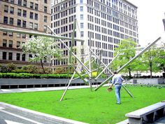 """""""Mellon Square Sculpture Gets New Home at Carnegie Museum in Oakland"""", Pittsburgh Post-Gazette, August 2013 Copper Beech, Carnegie Museum Of Art, 40 Years Old, August 2013, Art And Architecture, Pittsburgh, New Homes, Sculpture, 40 Rocks"""