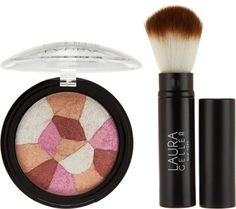 Laura Geller Filter Blush Baked Cheek Color with Brush