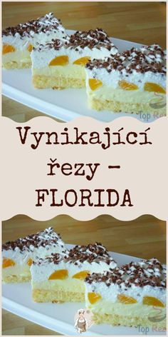 Baking Recipes, Dessert Recipes, Czech Recipes, Ham, Sweet Tooth, Deserts, Veggies, Food And Drink, Pudding
