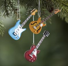 It's time for Jinglebell Rock with these electric guitar ornaments!    Whether you're looking for stocking stuffers, Secret Santa presents, festive Christmas decor or even gift cards, we have a huge selection of unique holiday stuff to make your days and nights merry and bright.
