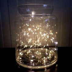 LED-Lichterkette-Draht-10-20-30-50-100-LED-Licht-SILBER-Drahtlichterkette-TOP