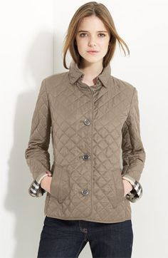 Cinched Waist Quilted Jacket | Burberry | If I ever get hitched ... : copford quilted jacket - Adamdwight.com