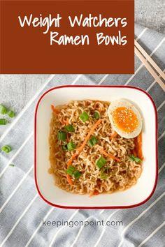 Ww Recipes, Easy Dinner Recipes, Asian Recipes, Vegetarian Recipes, Easy Meals, Healthy Recipes, Weight Watchers Meal Plans, Weigh Watchers, Weight Watcher Dinners