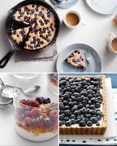Blueberry-Ricotta Tart