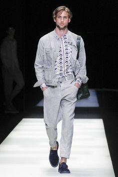 Giorgio Armani, Primavera/Verano 2018, Milán, Menswear