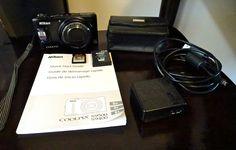 #Nikon #COOLPIX #S9500 18.1MP #DigitalCamera -Black #Nikoncoolpix