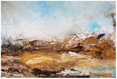 Although abstract in form, my paintings are landscapes – they capture the essence and emotional significance of a place and / or time. Irish Landscape, Abstract Landscape, Abstract Painters, Ink, Artist, Landscaping, Painting, Board, People