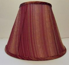 40010 Shades Of Red Table Lamp Shade