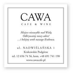 Cava - Wino - Kawa