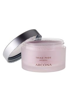 This brand, and this product, changed my life after 30!  Arcona 'Triad' Toner Pads available at #Nordstrom