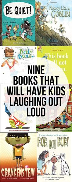 Nine More Funny Picture Books That Will Have Kids Laughing Out Loud Neun weitere lustige Bilderbücher, in denen Kinder laut lachen Kids Reading, Teaching Reading, Reading Books, Kid Books, Books For Kids, Reading Lists, Early Reading, Reading Fluency, Kids Laughing
