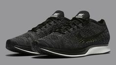 reputable site 28518 9885c Nike Flyknit Racer Black Knit by Night Black Nike Shoes, Black Nikes, Nike  Trainers