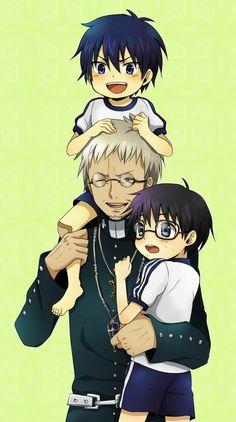 Ao no Exorcist (Blue Exorcist) Mobile Wallpaper - Zerochan Anime Image Board Ao No Exorcist, Blue Exorcist Anime, Rin Okumura, Rin And Shiemi, Jojo's Bizarre Adventure, Manga Anime, Anime Art, Mini Comic, Fan Art