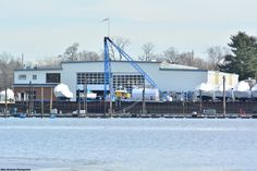 Dredge Harbor Marina, a pit stop for many boaters who come off the Delaware River in Delran, NJ, next to Amico Island.