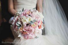 Stunning bouquet by FaBLOOMosity #wedding #yeg