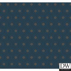 Hialea Honey Comb Wallpaper [DLA-60522] : Designer Wallcoverings™