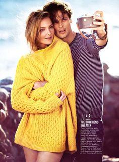 Matthew Gray Gubler 001 Criminal Minds Matthew Gray Gubler Plays the Doting Boyfriend for Glamour