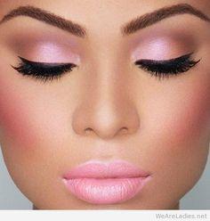 Inspiring Valentine's day makeup 2015