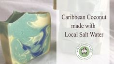Caribbean Coconut  | Making and Cutting Salt Water Cold Process Soap | Merrywood Farm Soaps https://youtu.be/C4DVrWZkgUM Caribbean Coconut  | Making and Cutting Salt Water Cold Process Soap   The micas gave me another scare.  I wasn't sure about the green color but I continued on.  The color change in my opinion was beautiful!  I was very happy with the. green and yellow hues at the cutting of this video. _________________________  - M y E q u i p m e n t --  Soap Mold…