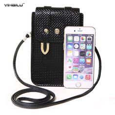Yihailu Shoulder Leather Wallet Bag For iPhone 6s For Samsung S7 edge Note 7…