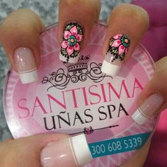 Nails Only, Love Nails, Pretty Nails, My Nails, Fabulous Nails, Perfect Nails, Mandala Nails, Nail Polish Art, Luxury Nails