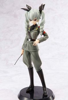 Anchovy 1/8 Figure Regular Edition ~ Girls und Panzer $110.00 (This is a preorder item scheduled for release in December 2014) http://thingsfromjapan.net/anchovy-18-figure-regular-edition-girls-und-panzer/ #anchovy #girls und panzer #anime figure #Japanese anime stuff