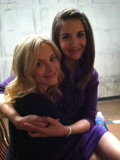 Cute Alison Brie and Gillian Jacobs