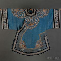 Han-style Woman's Informal Robe   Sale Number 2647B, Lot Number 289   Skinner Auctioneers