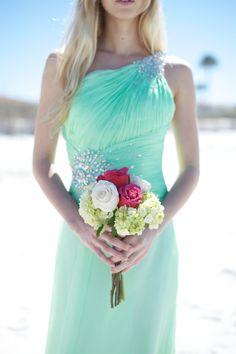 sea green beach wedding | ocean+wedding+beach+sea+under+the+sea+nautical+blue+pink+mint+green ...