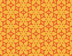 Blossom Tropic Pop Citrus Mural - Al McWhite| Murals Your Way