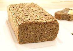 Pan de espelta y trigo sarraceno - Recetas Thermomix Thermomix Bread, The Gruffalo, Pan Bread, Sin Gluten, Margarita, Banana Bread, Bakery, Food And Drink, Breakfast