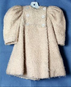 1899 Alice Mason Brown Coat without Cape