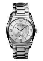 Emporio Armani Men's AR0339 Silver Quartz Watch