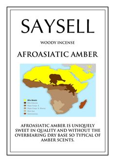 Afroasiatic Amber Woody 20 Incense Joss Sticks Agarbatti by Saysell #Saysell #Woody