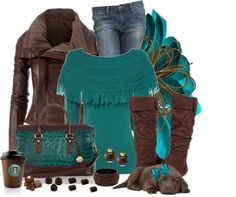 """""""Chocolatey"""" by tracey-puckett ❤ liked on Polyvore"""