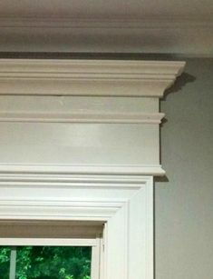 Stacked stock molding above regular window casings and doorways to add historic charm to any home