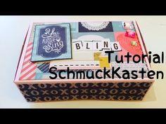 Scrapbook***Schmuckkästchen***DIY*** [tutorial | deutsch] - YouTube