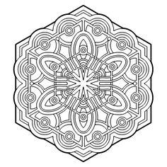 ԑ̮̑♦̮̑ɜ~Mandala para Colorear~ԑ̮̑♦̮̑ɜ Weirdo