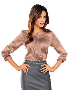 Alba Moda - Bluse nude im Heine Online-Shop kaufen