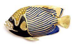 Fish Brooch by H. Kaston