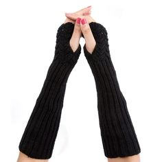 Simple Arm Warmers in Black , 46% discount @ PatPat Mom Baby Shopping App