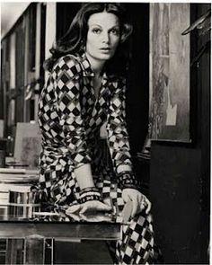 Diane von Furstenberg ~ during the Studio 54 era