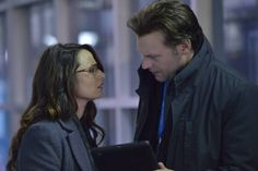 The Strain (TV Series 2014– ) Corey Stoll stars as Dr. Ephraim Goodweather and Mía Maestro as Dr. Nora Martinez