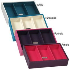 @Overstock - A vibrant, colorful combination of jewelry and accessory storage tray perfect for organizing all of your jewelry   accessorieshttp://www.overstock.com/